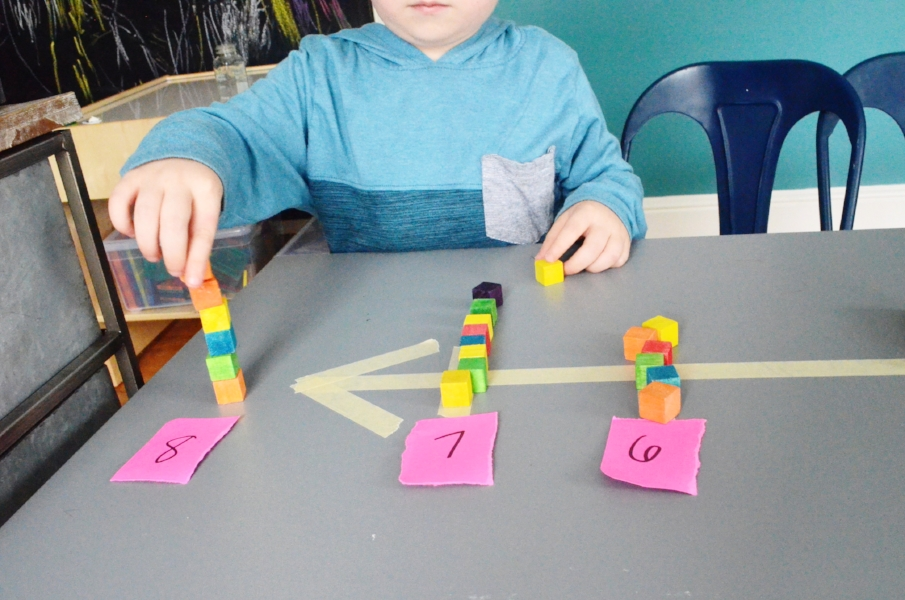 easy math game for preschoolers