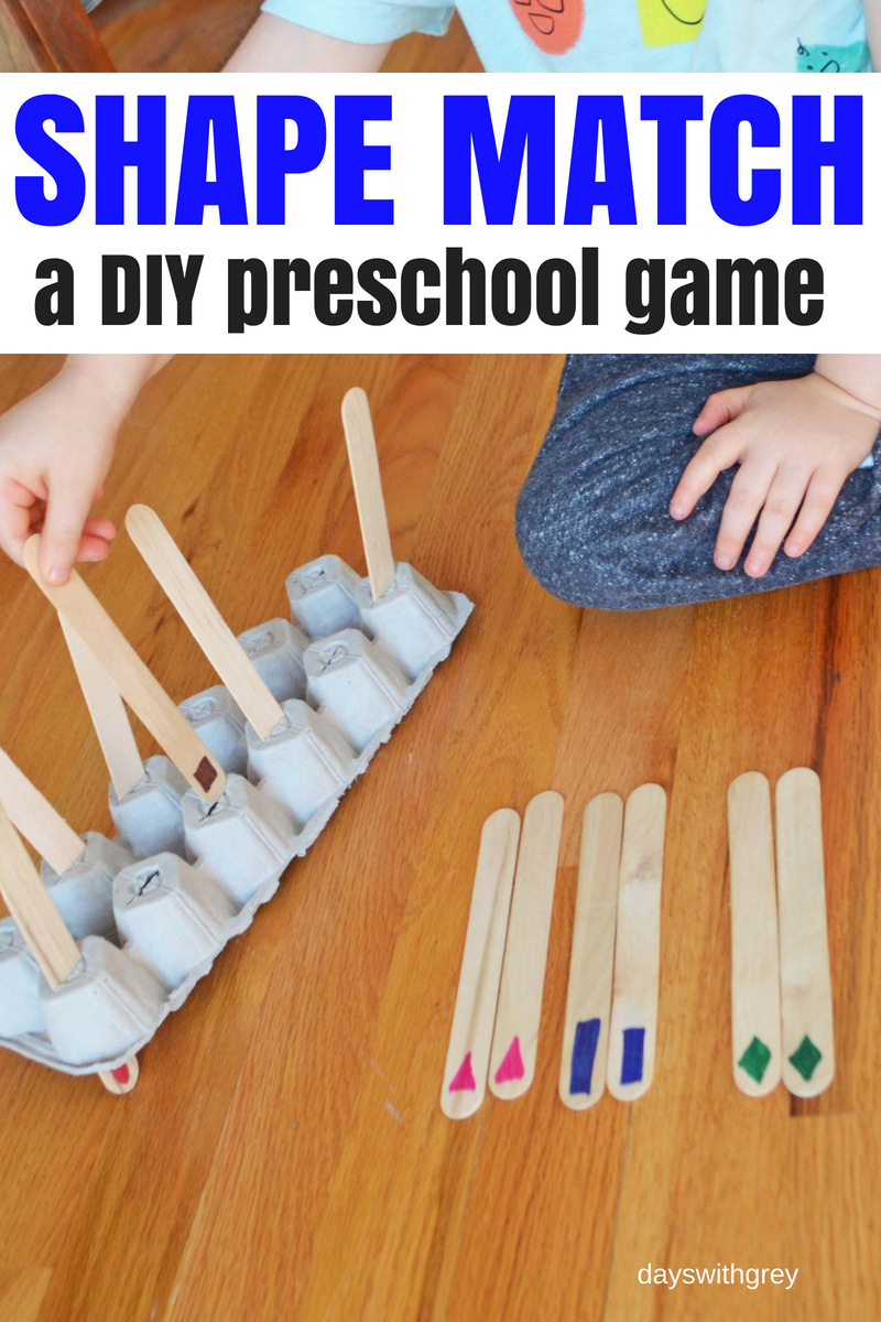 shape game for preschoolers