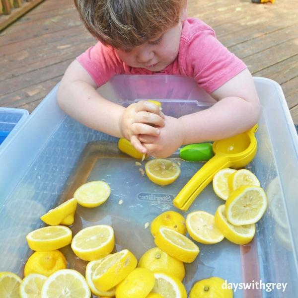 sensory bin for toddlers