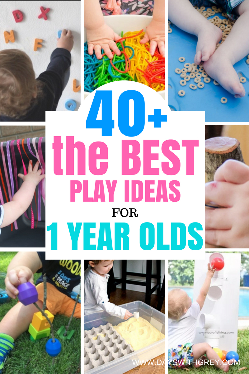 best ideas for 1 year olds