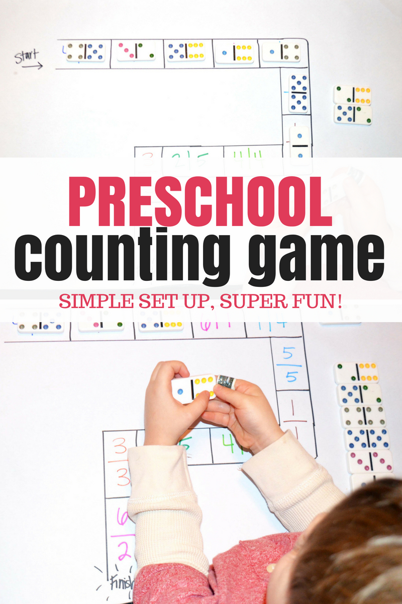 preschool counting game