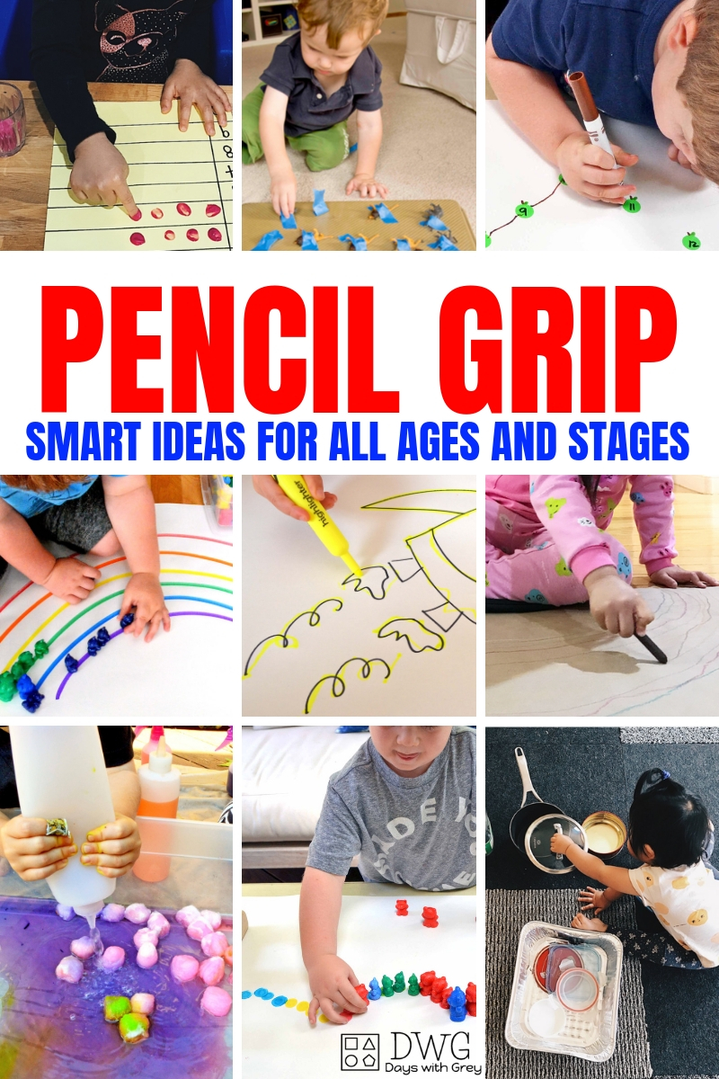 25+ Activities to Improve Pencil Grip — Days With Grey