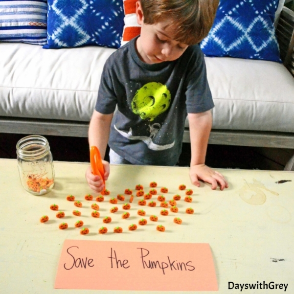 fine motor game for pencil grip