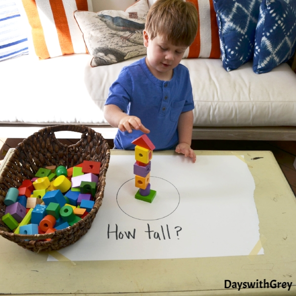 block play ideas for preschool and toddlers