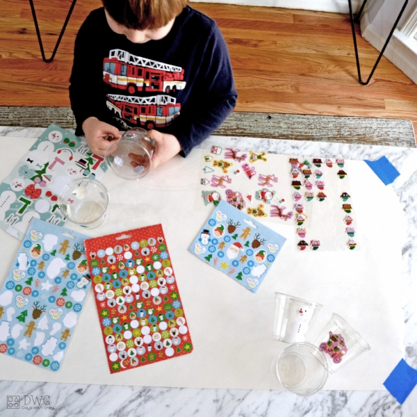 indoor holiday activity for kids