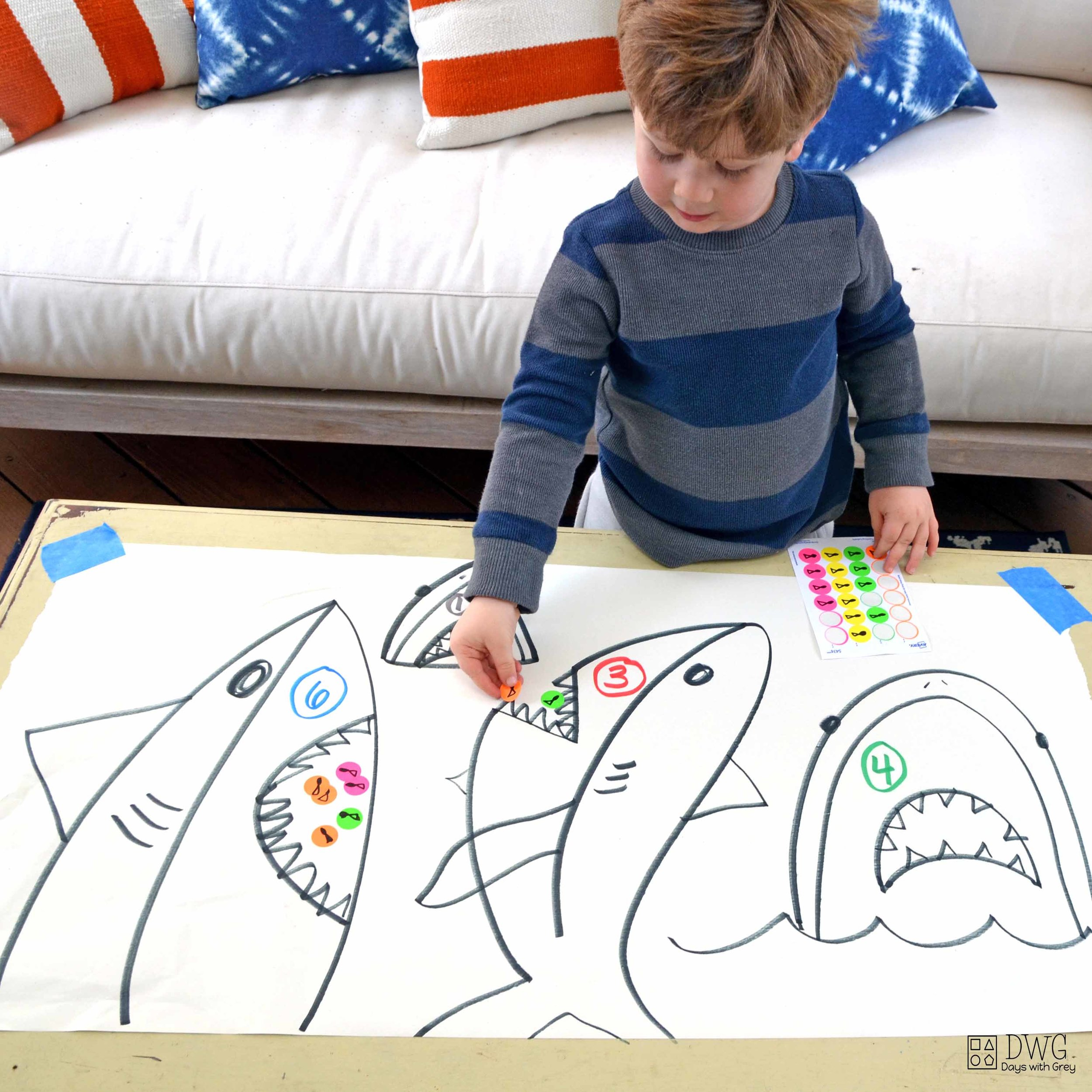 counting activity for preschool