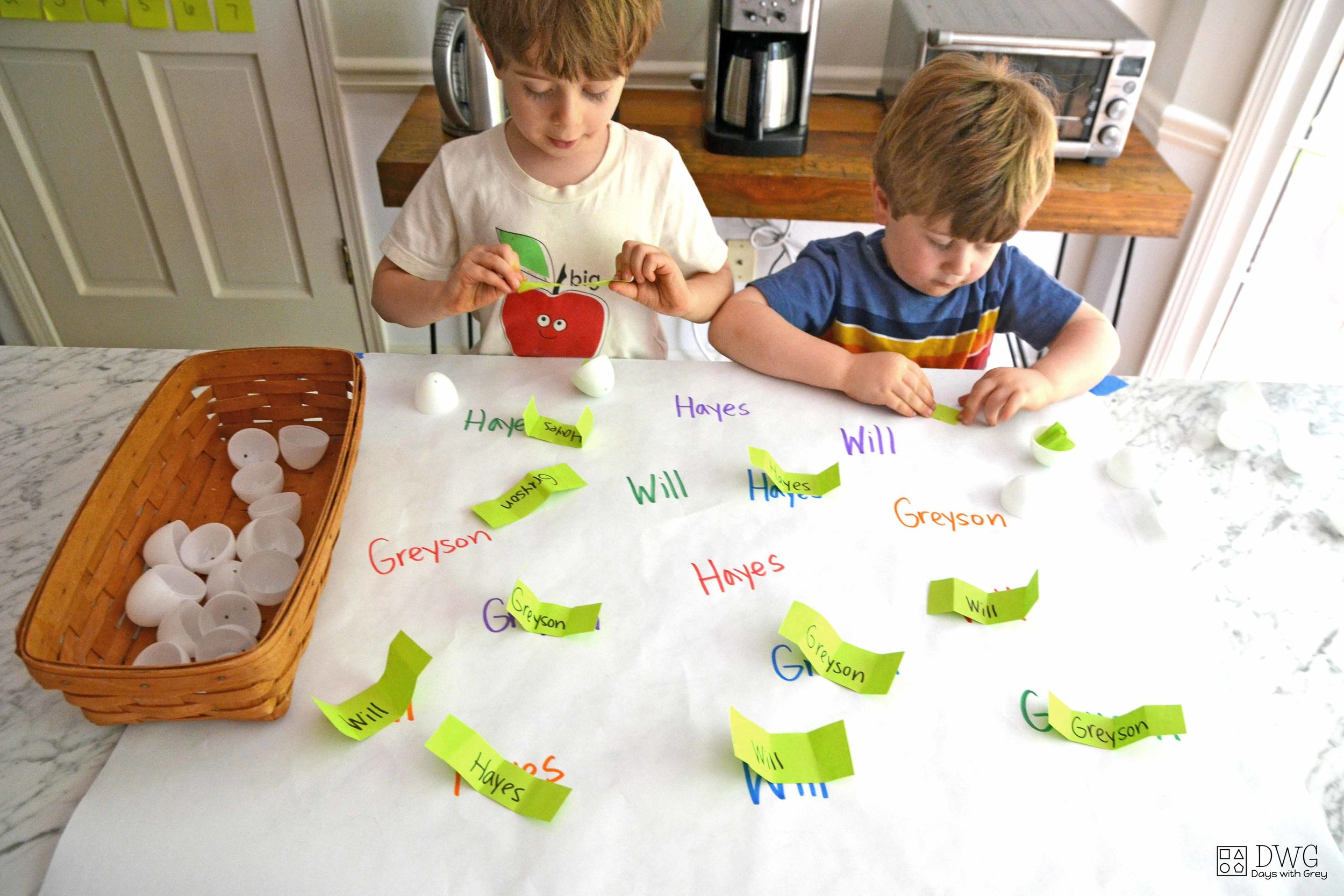 easy easter game for kids