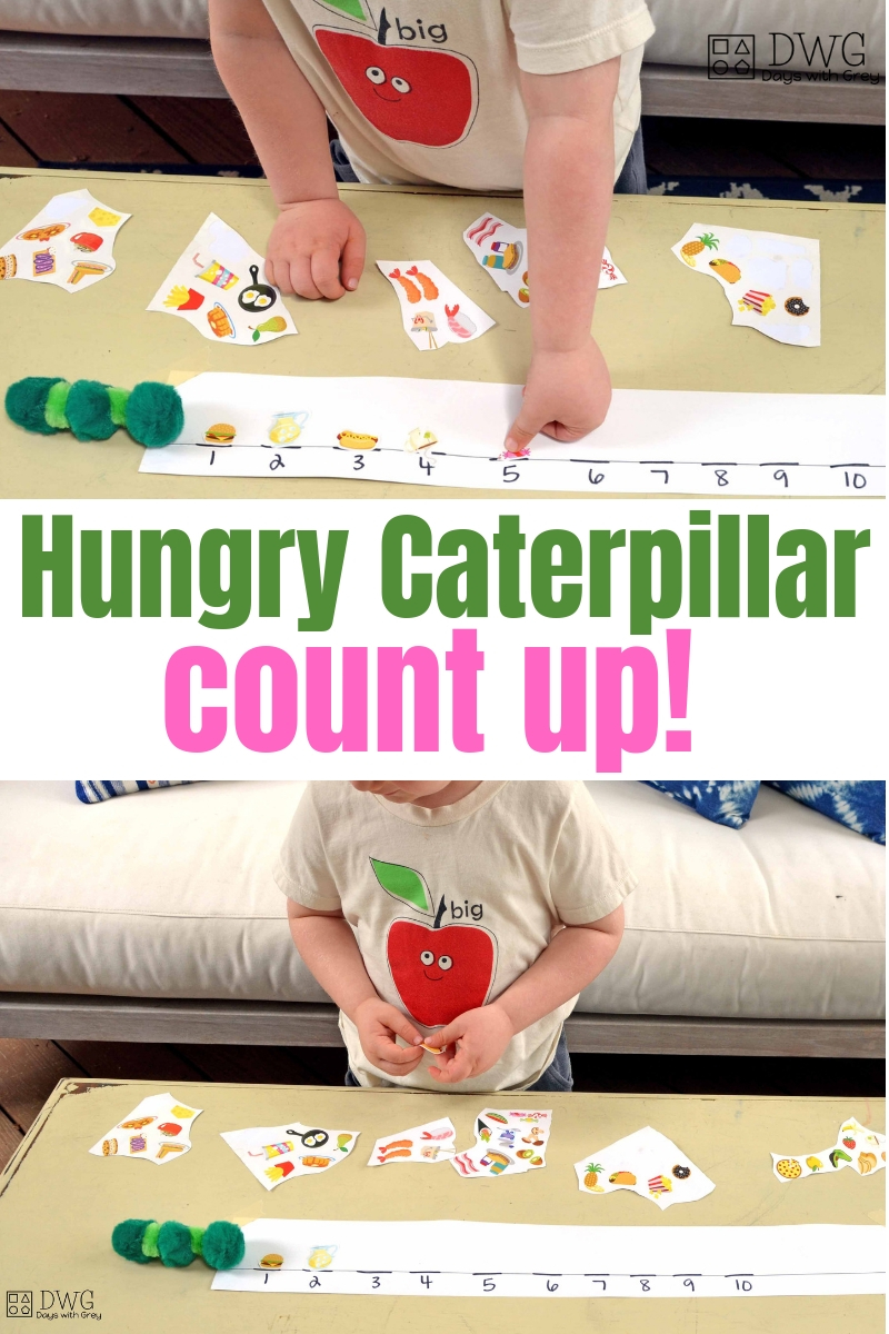 three year old activity for counting