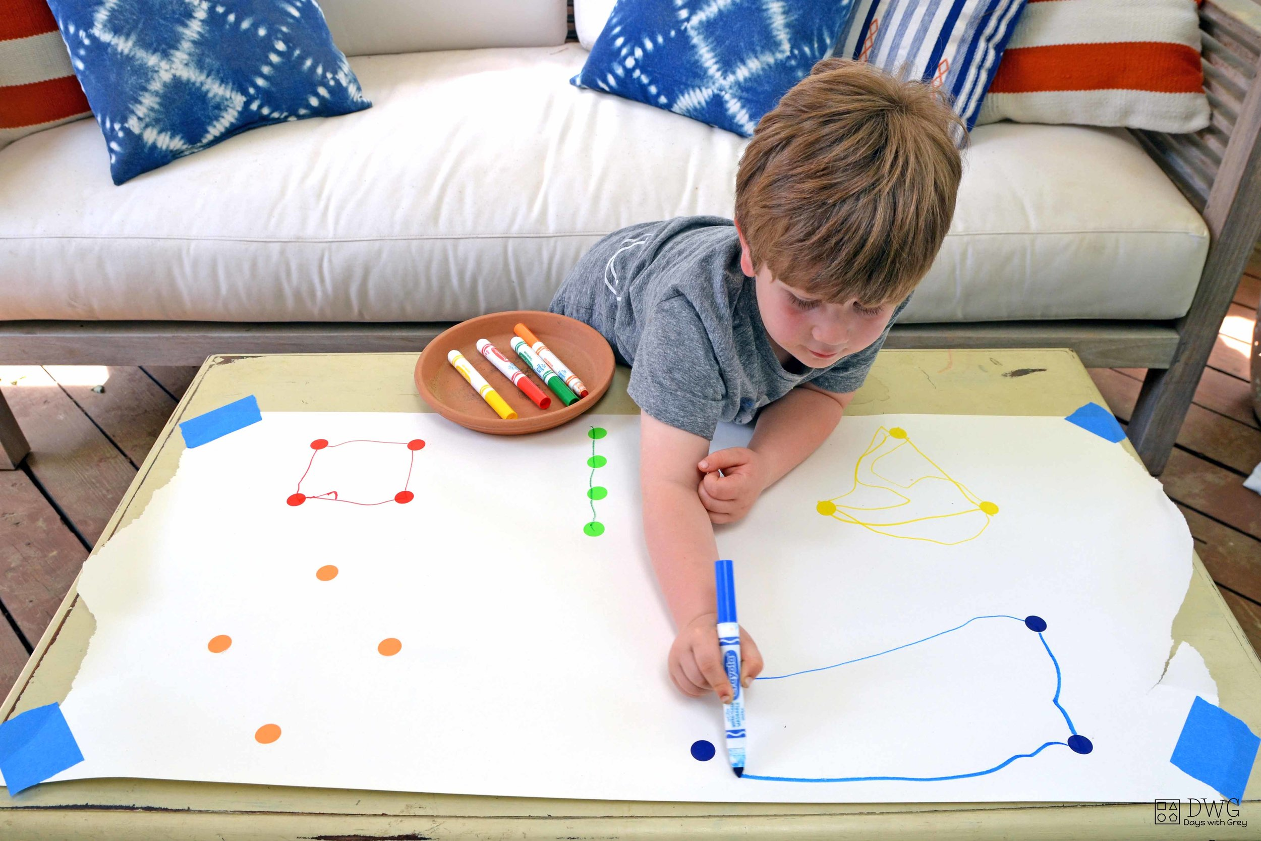 shape activity for preschooler