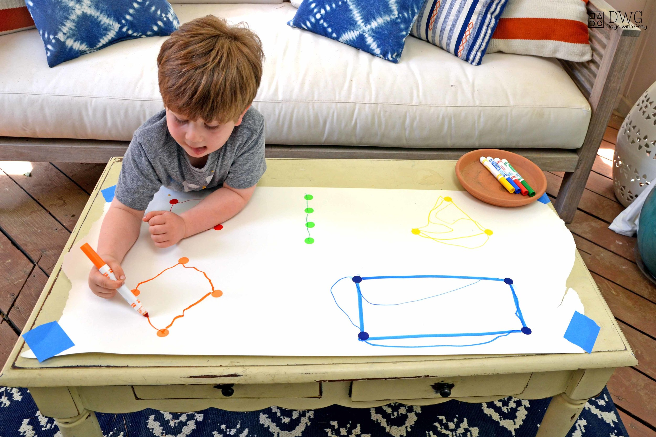 shape activity for preschoolers