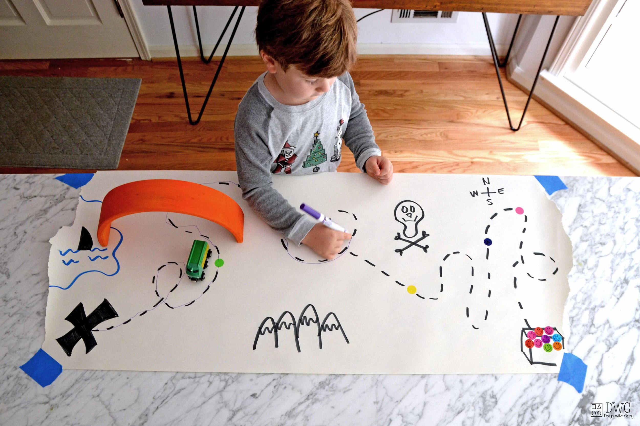 treasure map ideas for kids