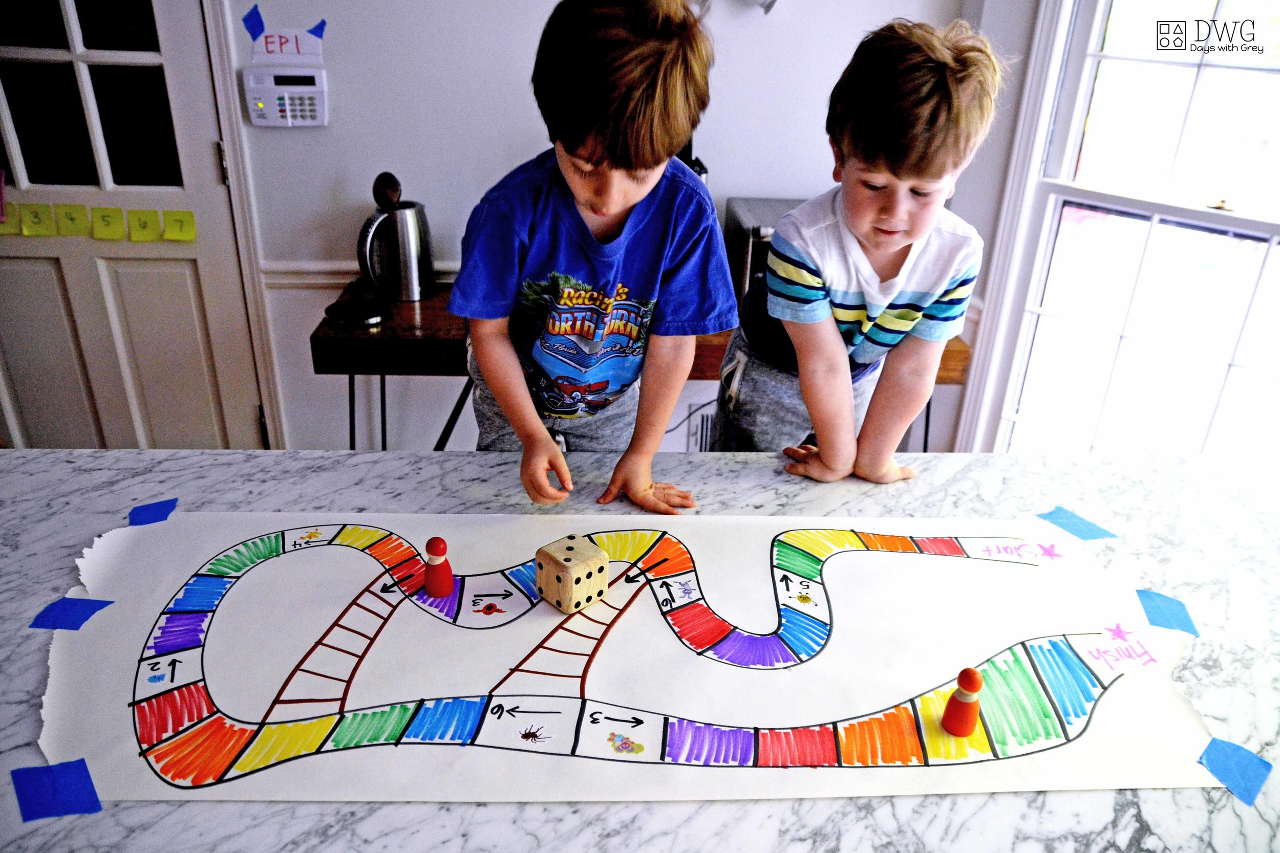 DIY board game for kids