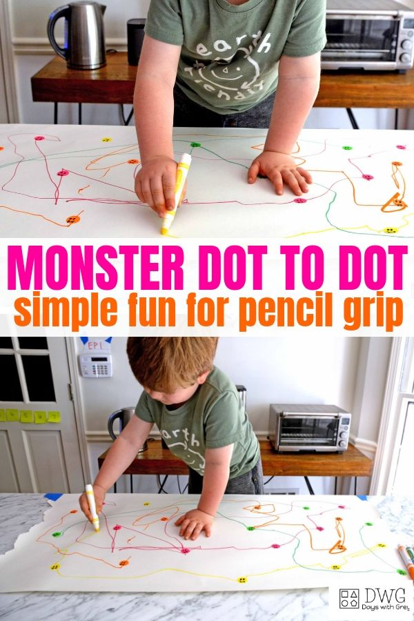 pencil grip activity for toddlers and preschoolers, dot to dot indoor activity for fine motor, hand stre.jpg