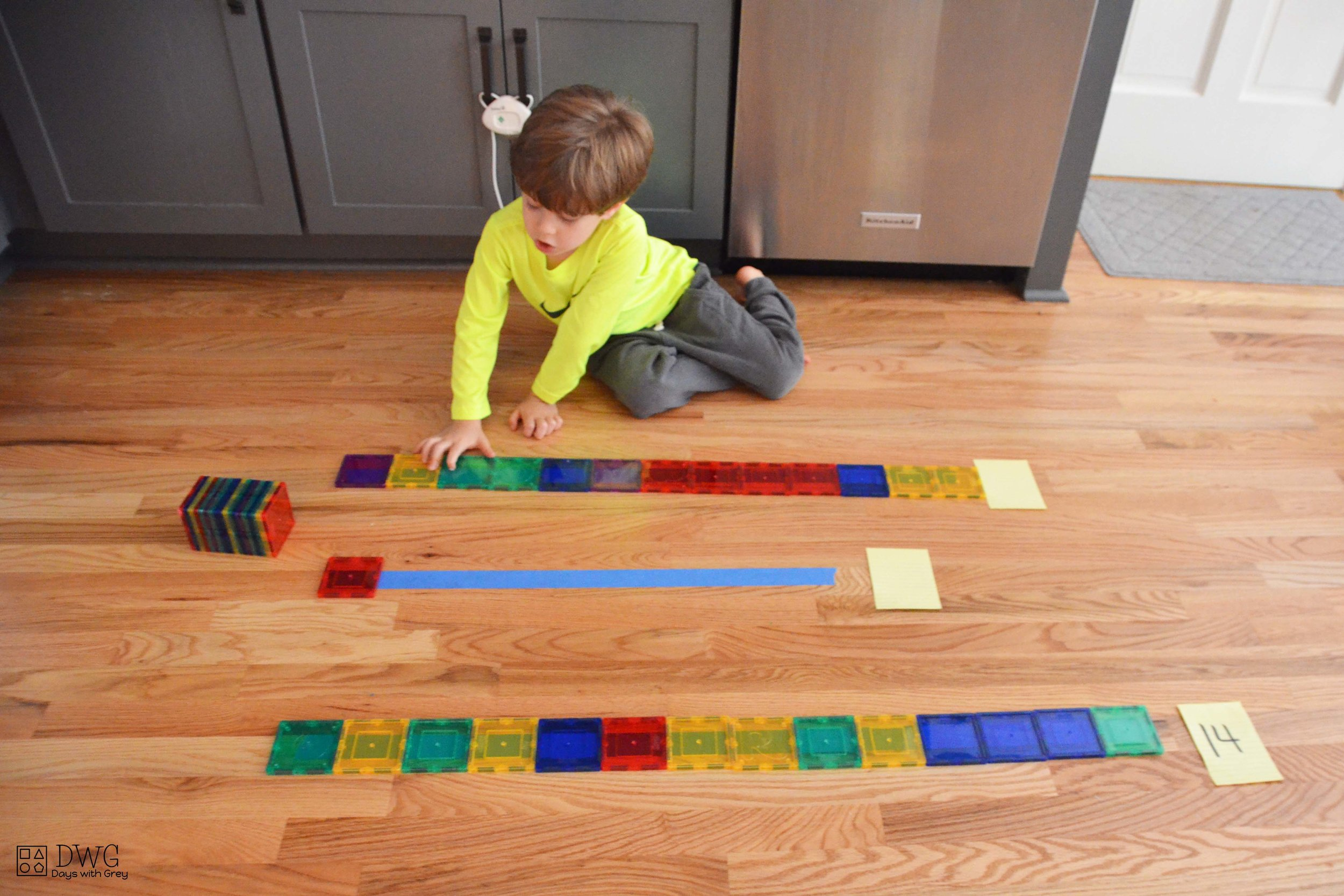 preschool measurement activity