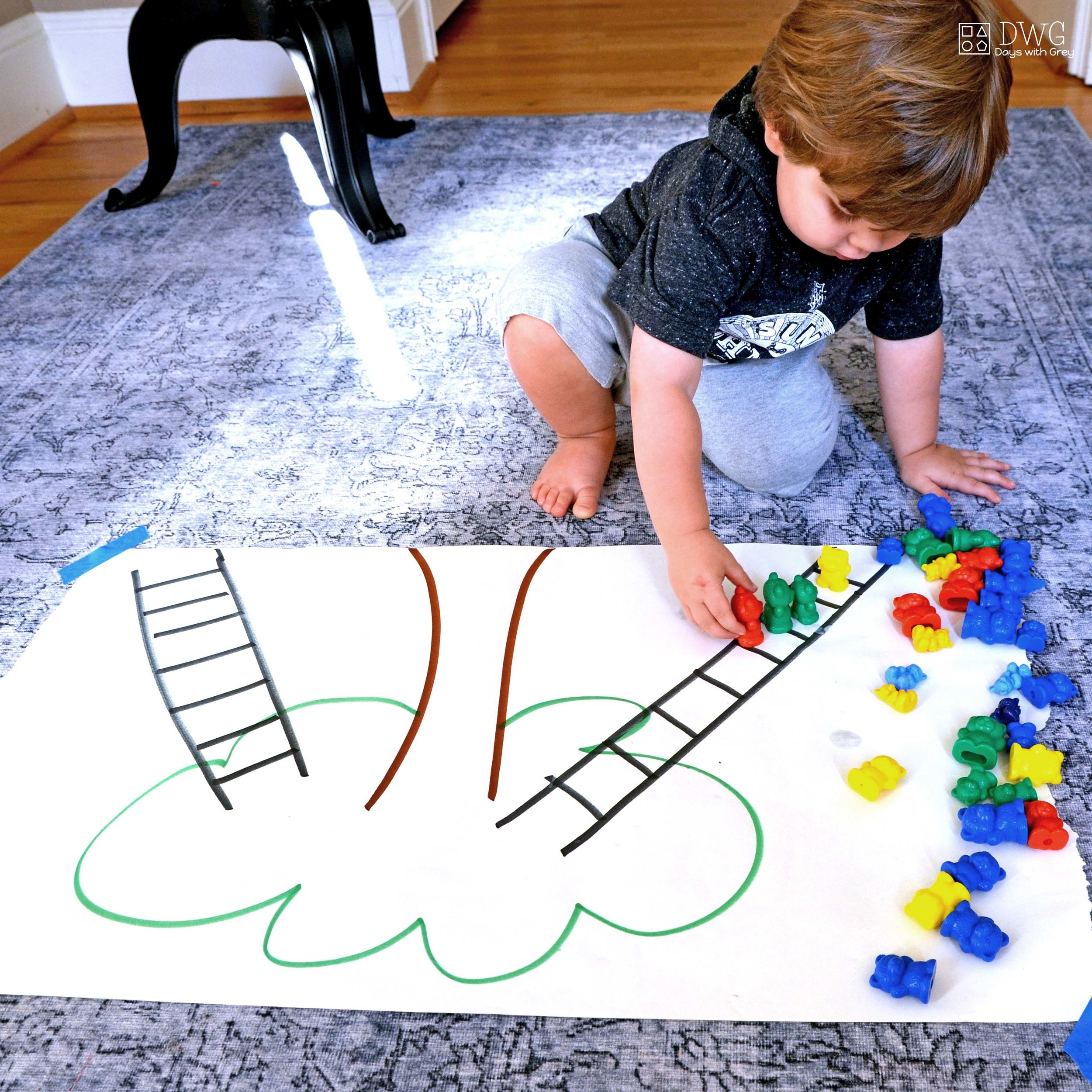 positional words for two year olds