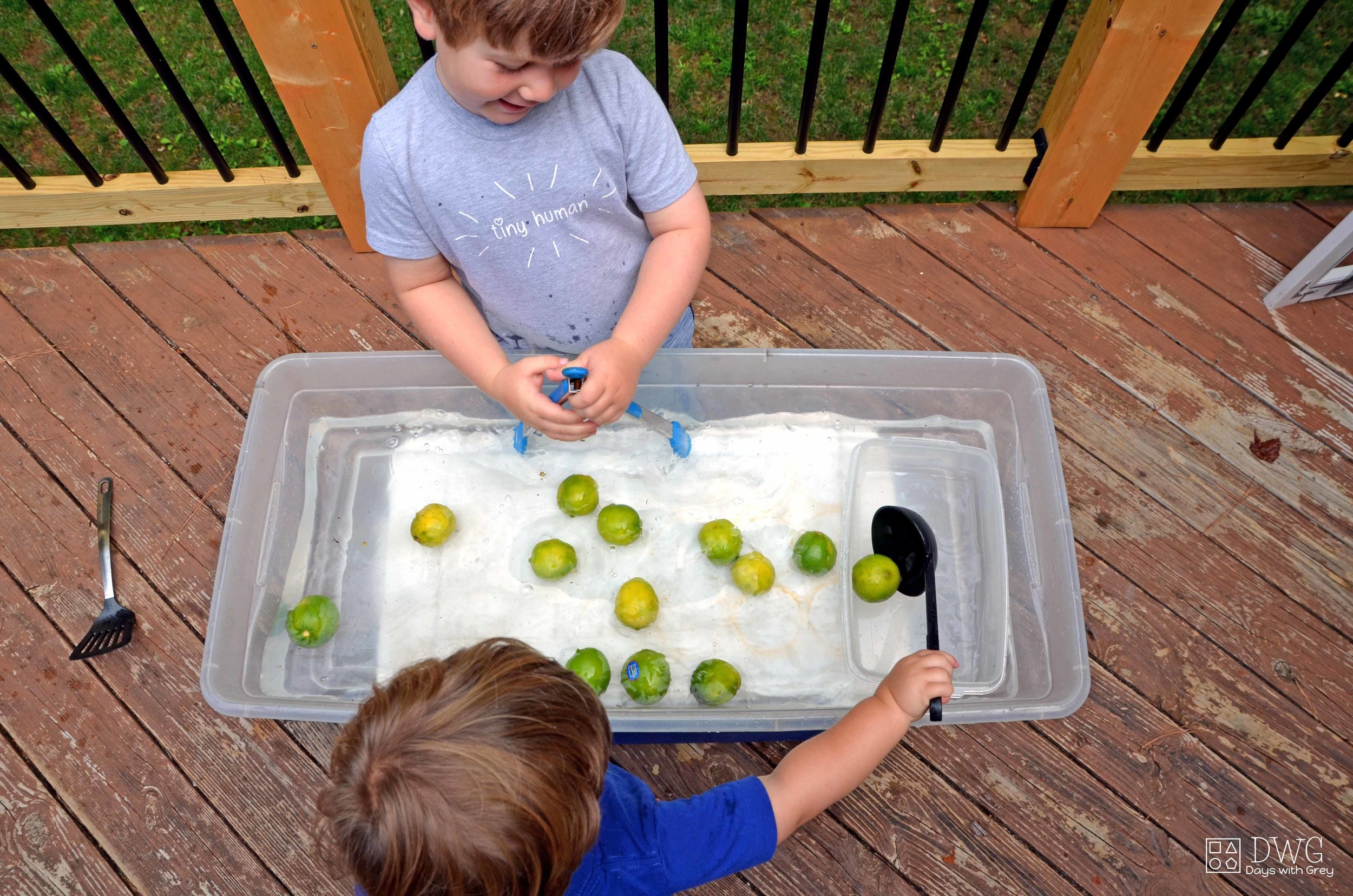 toddler water play