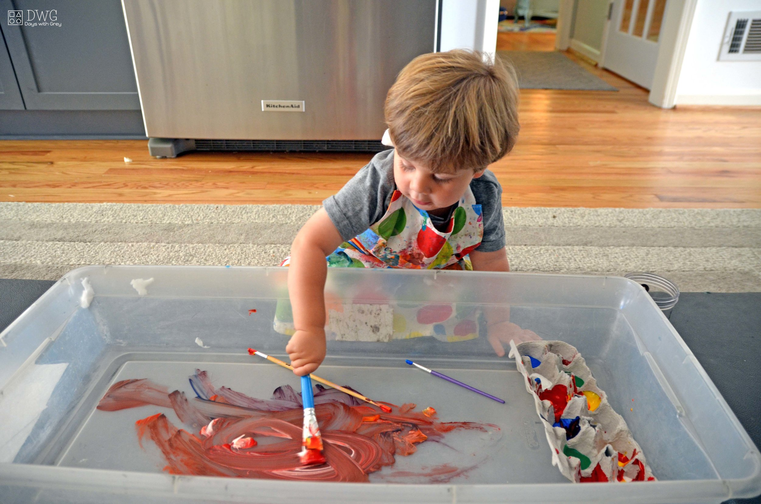 art supplies for two-year-olds