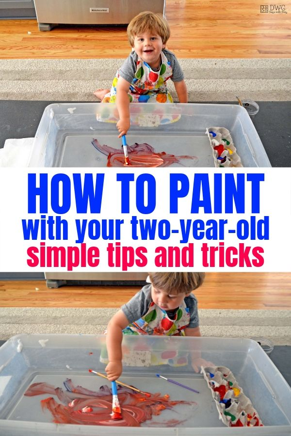 art supplies for two year olds