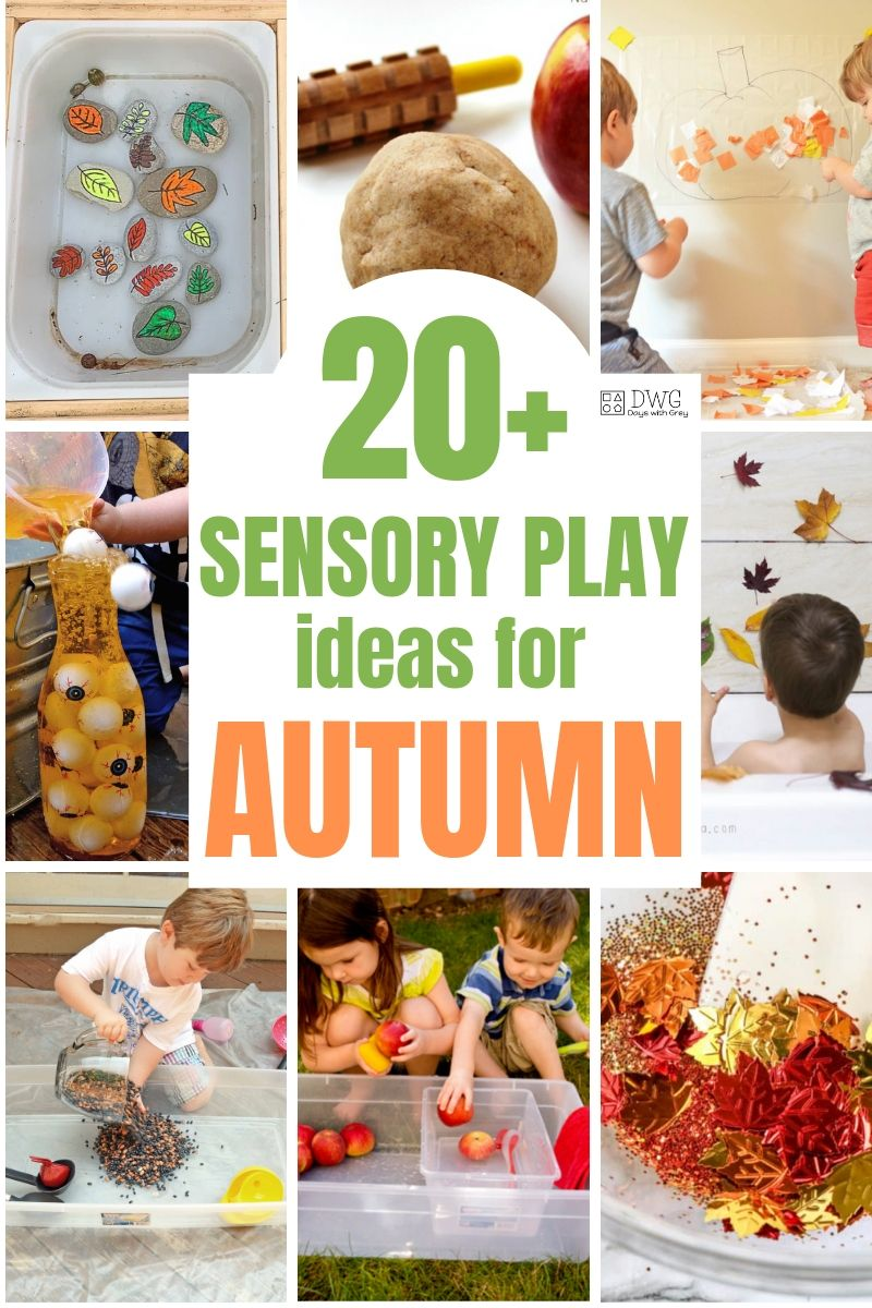 autumn sensory activities for toddlers