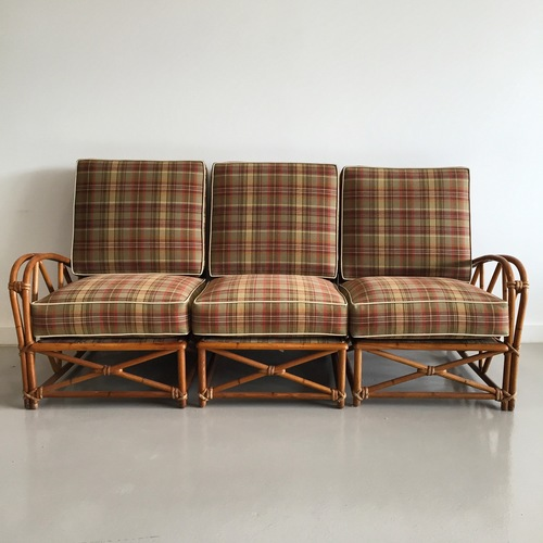 Rattan Sectional Sofa