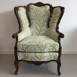 Antique Wingback