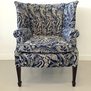 Channeled Wingback