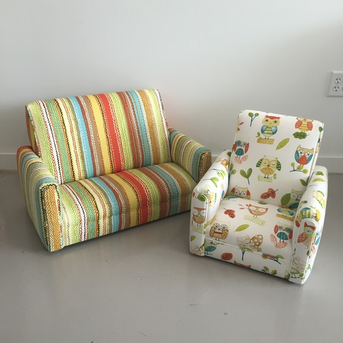 Child's Sofa & Chair Set