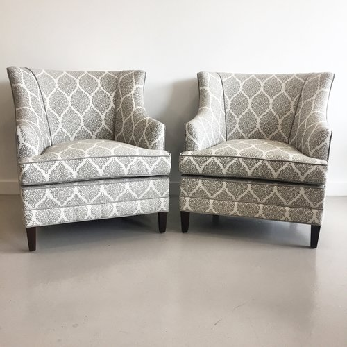 Pair of Petite Wingbacks
