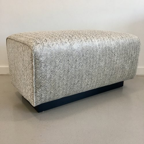 custom built floating ottoman