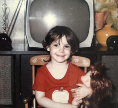 That's me. Circa 1972
