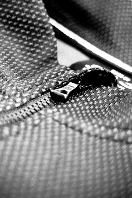 Search And State S1-A first generation zipper detail
