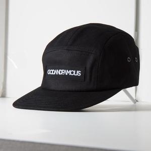 Godandfamous 5-panel cap