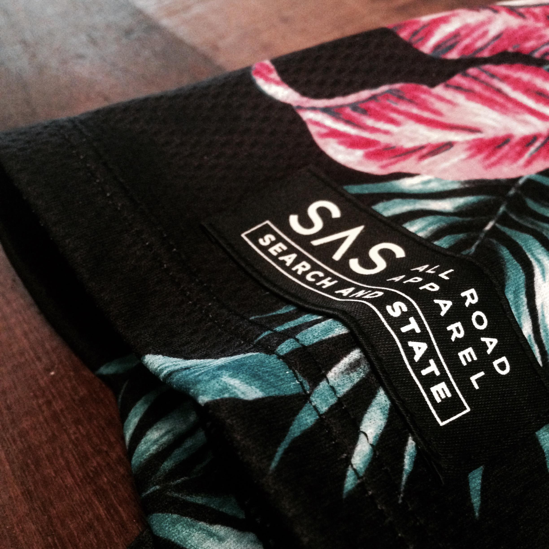 Branding on the S1-Aloha sleeve