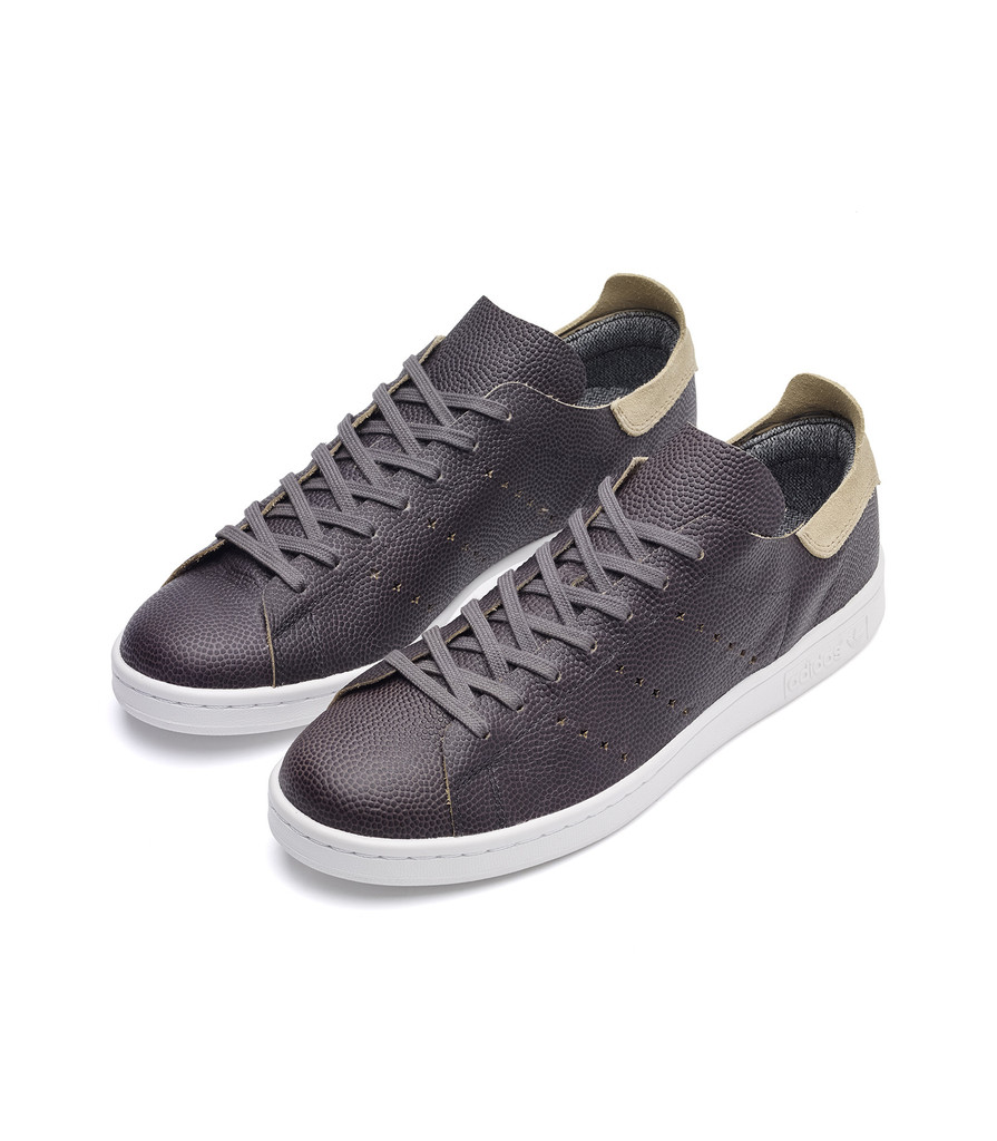 Wings + Horns x Adidas Stan Smith in grey