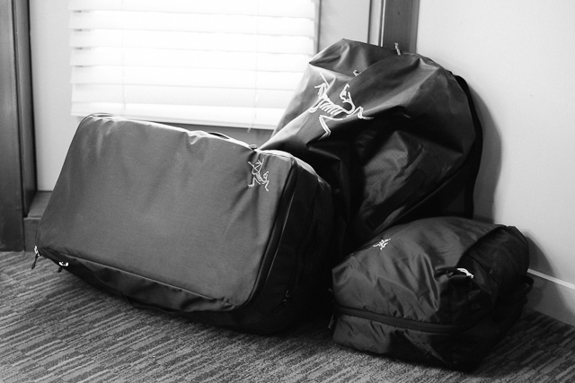 Arc'Teryx Covert I/C/O travels well with friends