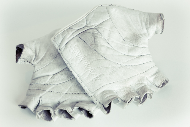 KindHuman Leather Gloves - palms
