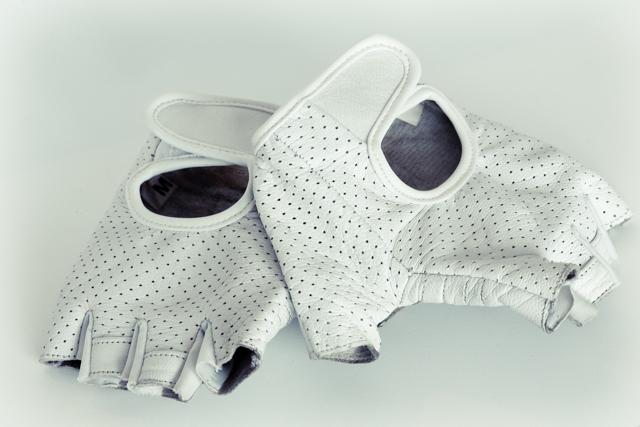 KindHuman Leather Gloves - backs