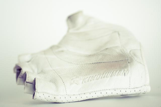 KindHuman Leather Glove - branding