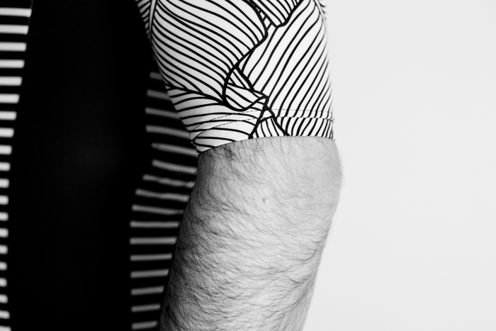 Lumiere Cycling Natural Stripe Jersey - sleeve length