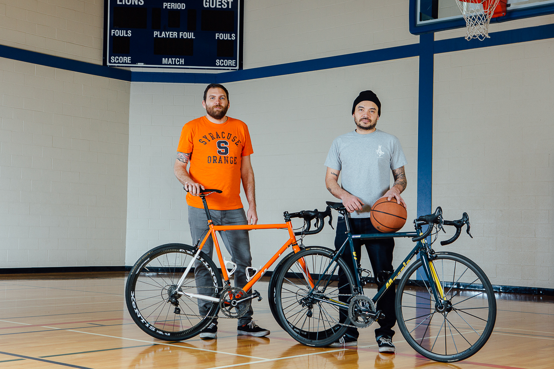 Eryn & Paul's NCAA March Madness inspired Mosaic RS-2 bespoke bicycles