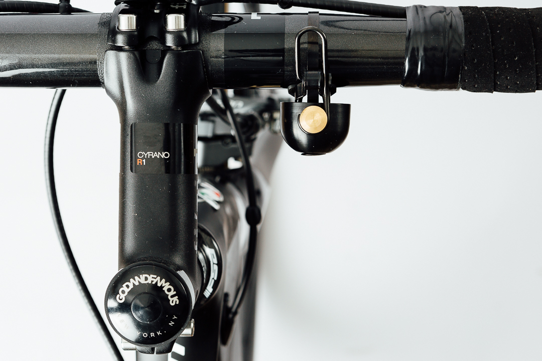 The Spurcycle Bell is a perfect design that is worthy to adorn your prize ride.