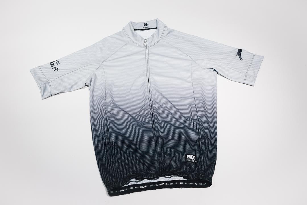 Team Dream Bicycling Team x The Radavist -Fade To Black Jersey - Front