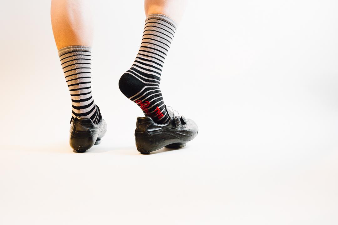 Team Dream Bicycling Team x The Radavist -  Fade To Black Socks