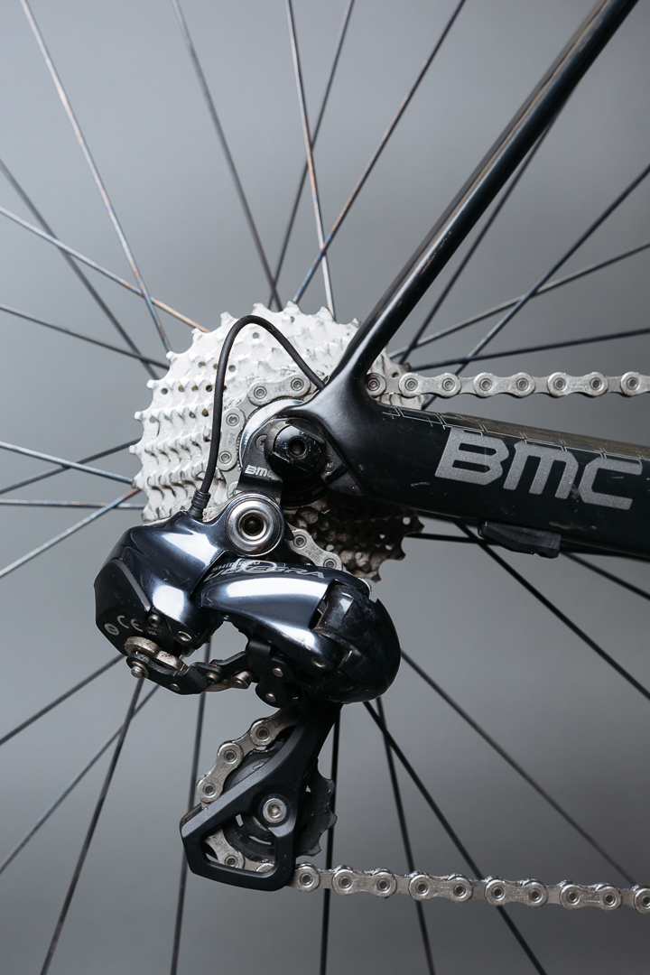An engineering first design to the chain and seat stays on the BMC SLR01 Team Machine