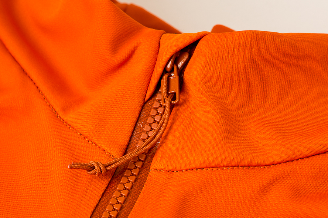 7mesh Synergy Jersey - collar and zipper details