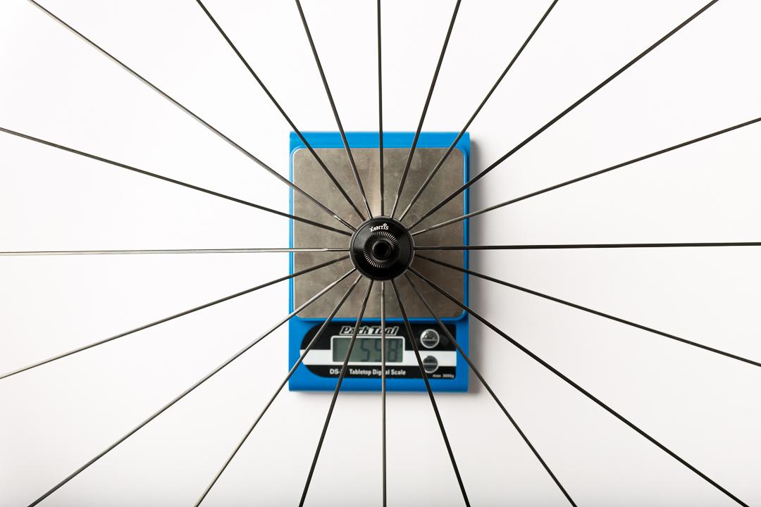 Xentis XBL 2.5 front wheel - 558 grams