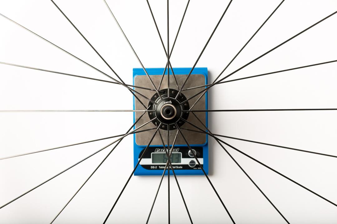 Xentis XBL 2.5 - rear wheel - 693 grams