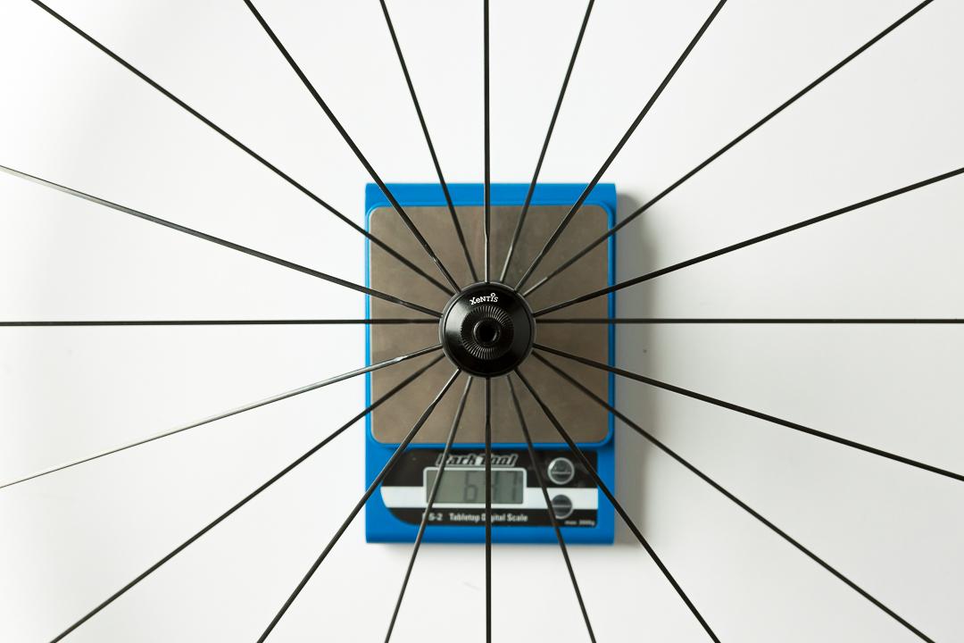 Xentis XBL 4.2 - front wheel - 647 grams