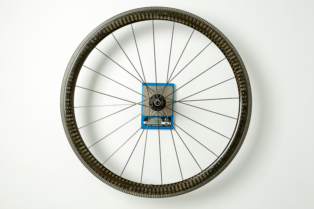 Xentis XBL 4.2 - rear wheel - on the scale