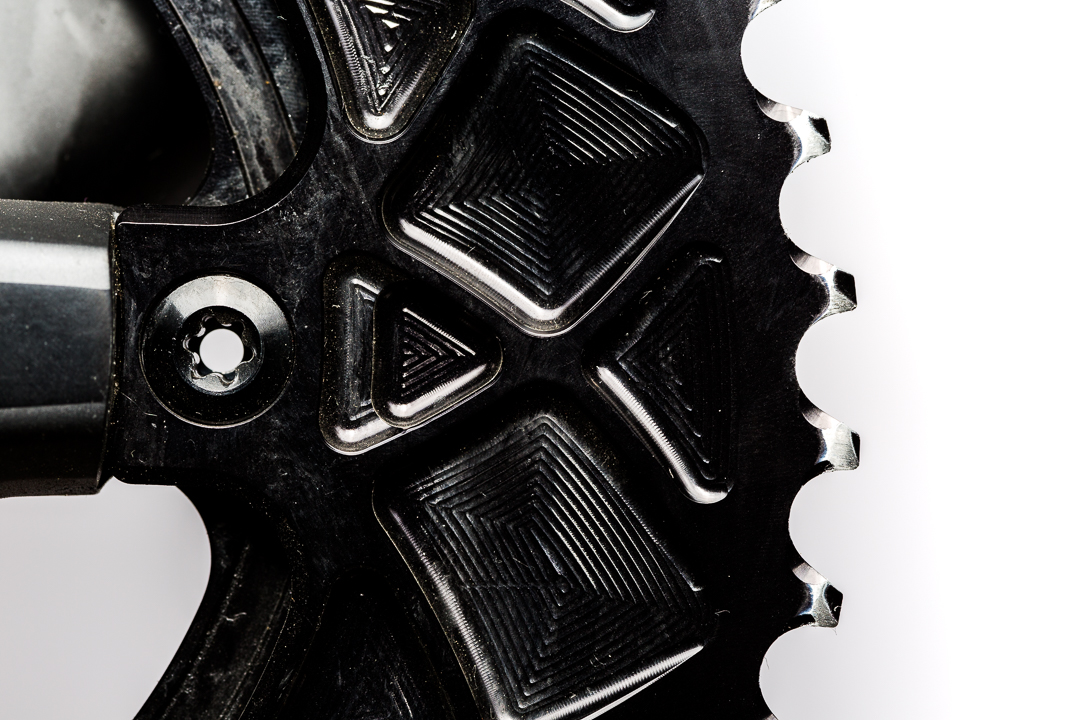 Absolute Black Oval Outer Chainring - L ong term wear and tear on the anodized finish
